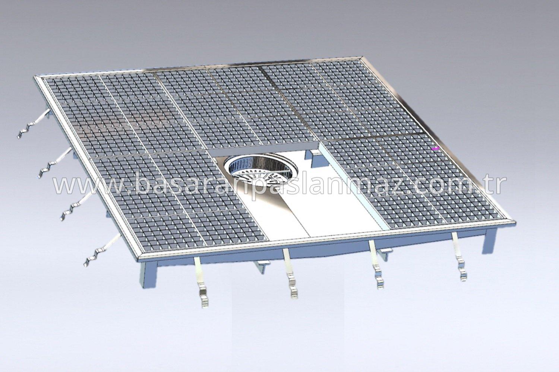 Paslanmaz Çelik Yıkama Platformları