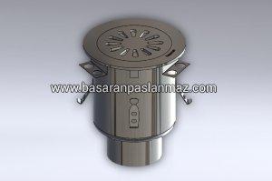 Paslanmaz Çelik Endüstriyel Jumbo Süzgeç - Model JCAK